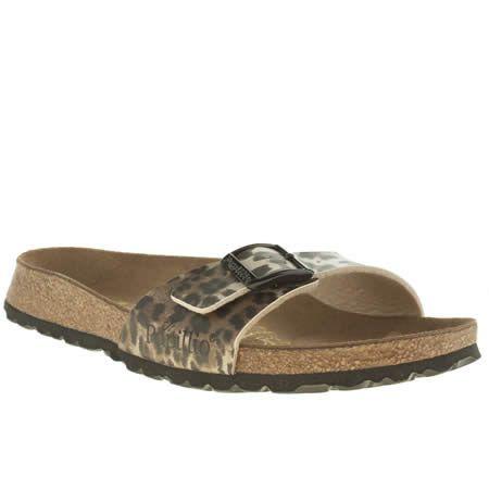 7affce9e2b69 womens birkenstock beige   brown madrid leopard sandals