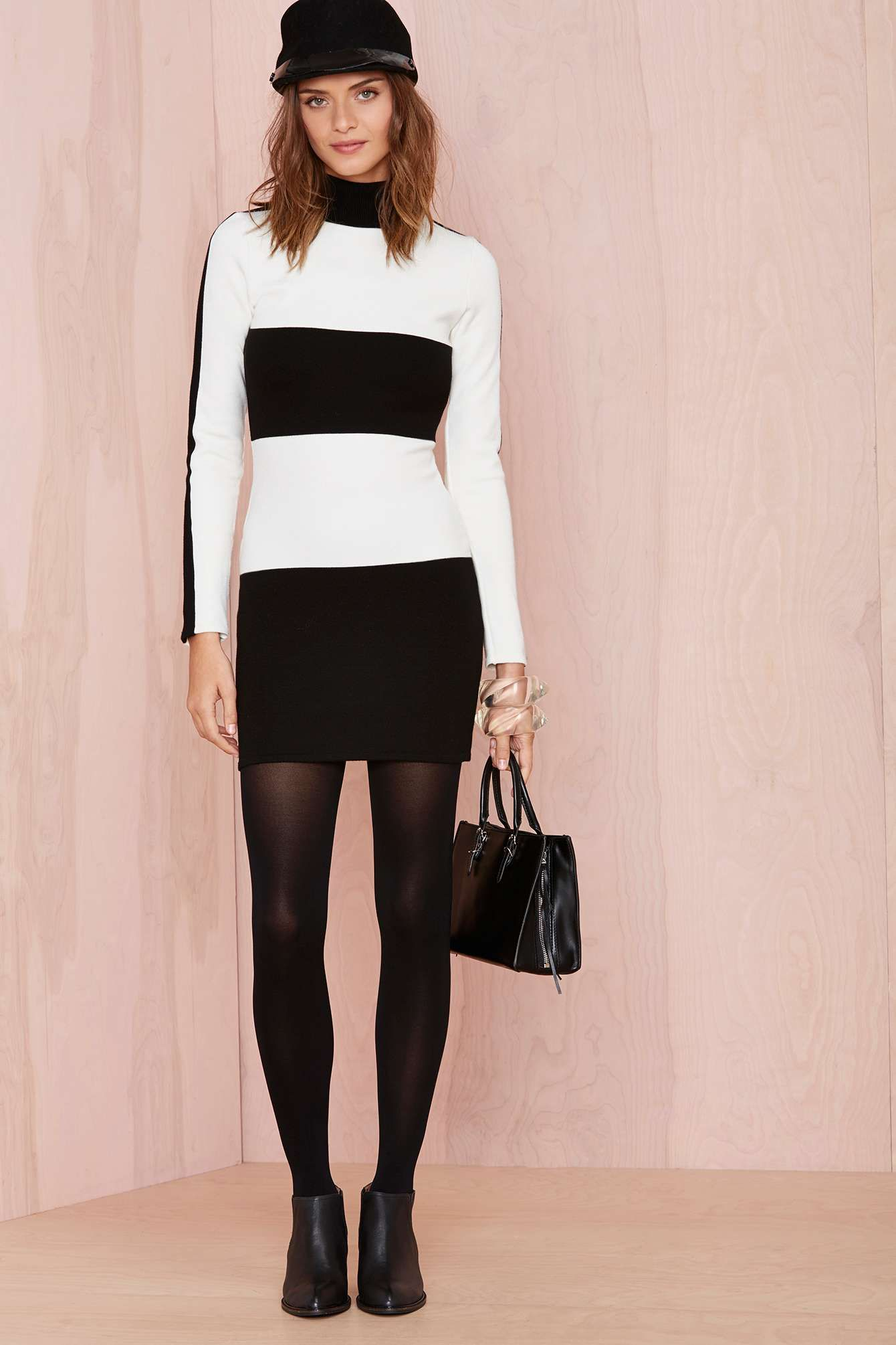 Stripe Up Dress | Shop What's New at Nasty Gal