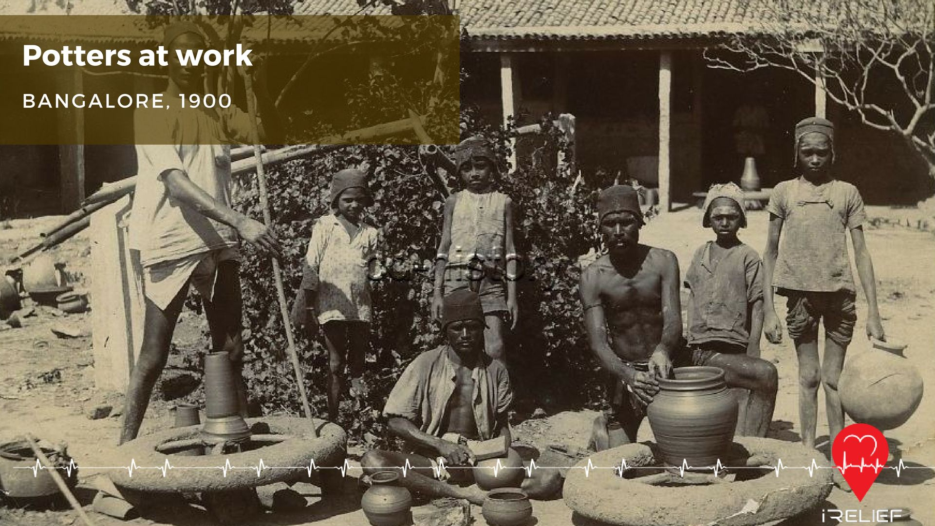 Potters at work. Bangalore 1900s. ThrowbackThrusday