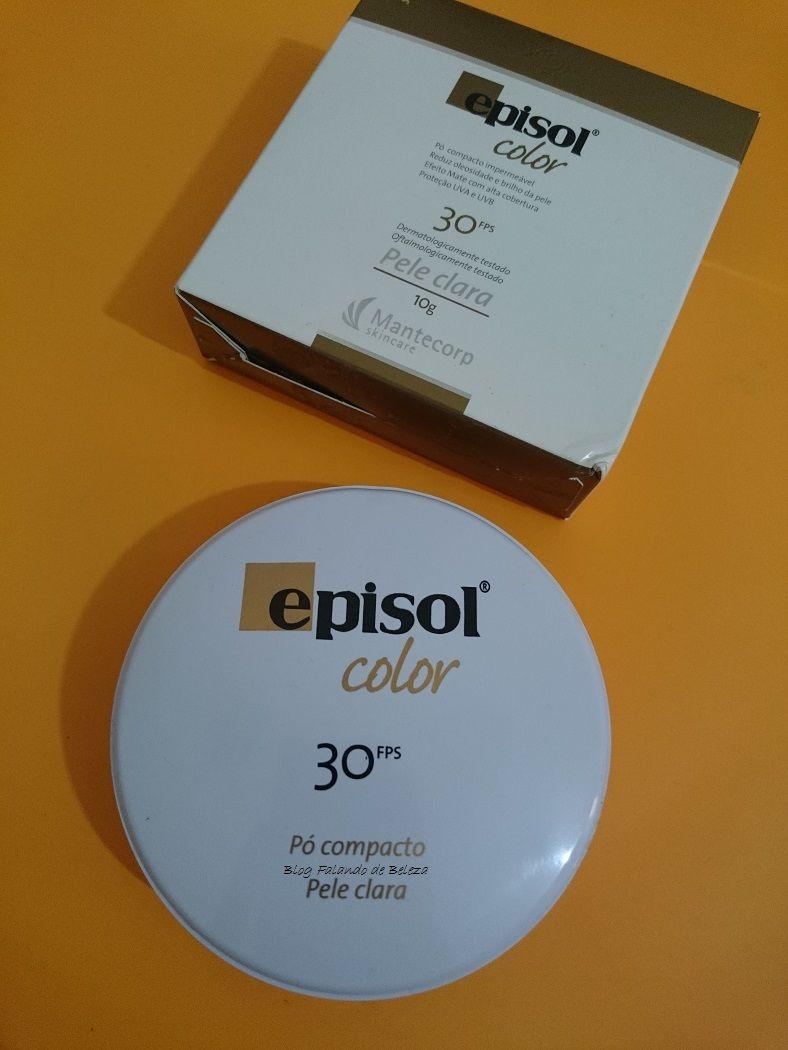 pó compacto isdin fotoprotetor fps 50+ areia 10g