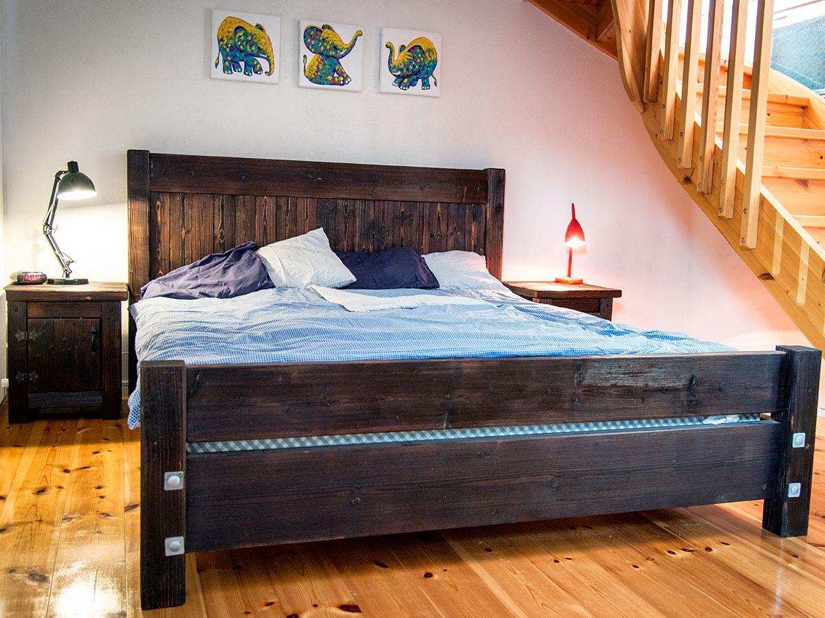 Rustic furniture made by Nordvillan  www.nordvillan.se  Rustika ...