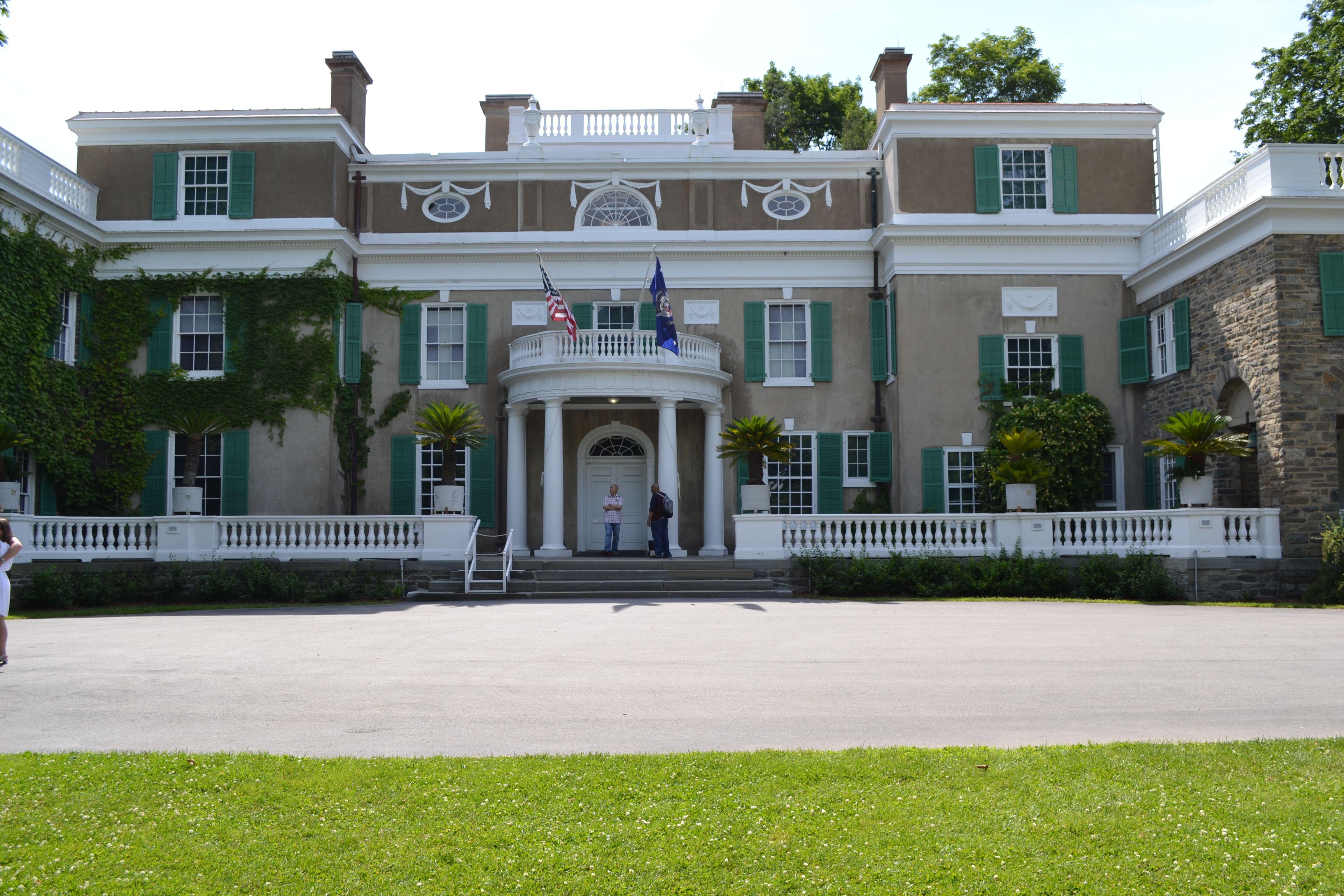 Home Of Franklin D Roosevelt National Historic Site In Hyde Park