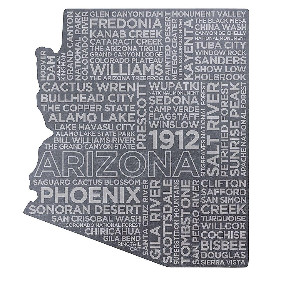 Top Shelf Living Arizona Etched Slate Cheese Board In 2021 Slate Cheese Board Slate Cheese Board