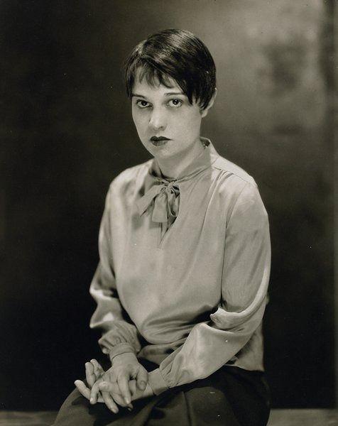 Anita Loos 1889 1981 American Screenwriter Playwright And Author Best Known For Her Blockbuster Comic N Edward Steichen Portrait Gentlemen Prefer Blondes