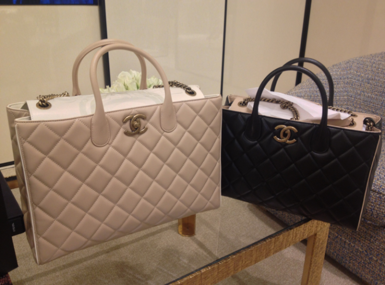 cfd5a498032e Chanel Beige and Black Portobello Bags.. this years purchase ...