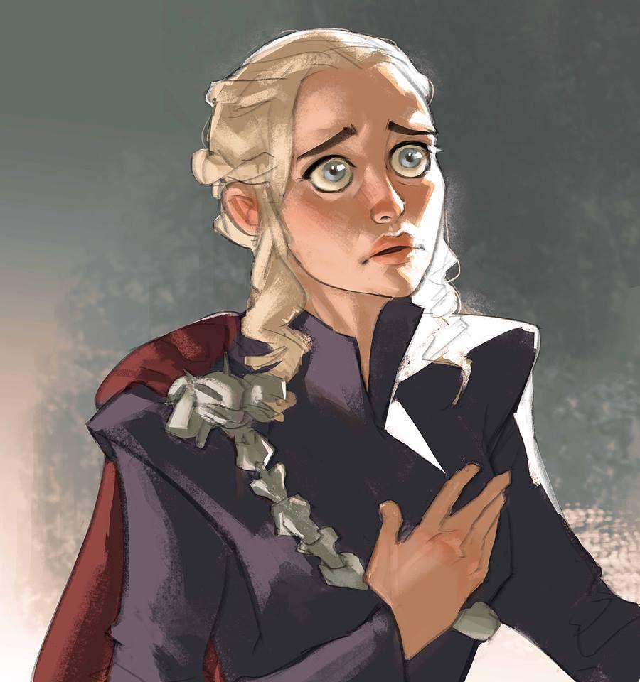Game Of Thrones : si la série était un animé | Dessin game ...