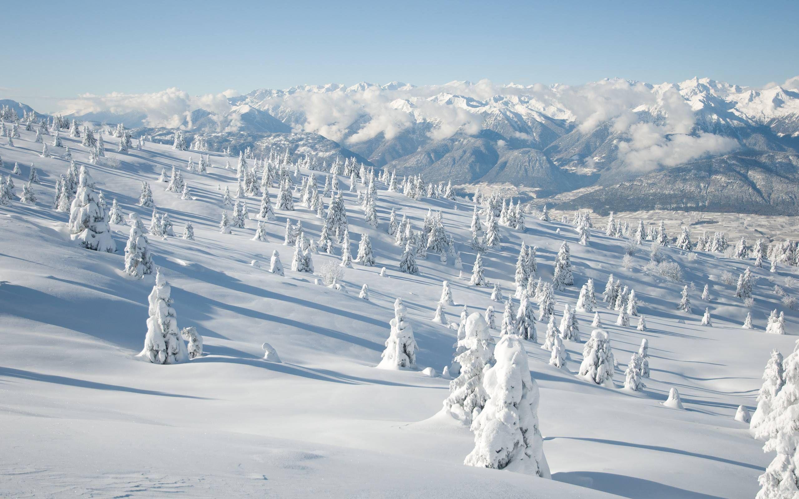 Snow Mountain Landscape Mountain Images Winter Landscape Winter Nature