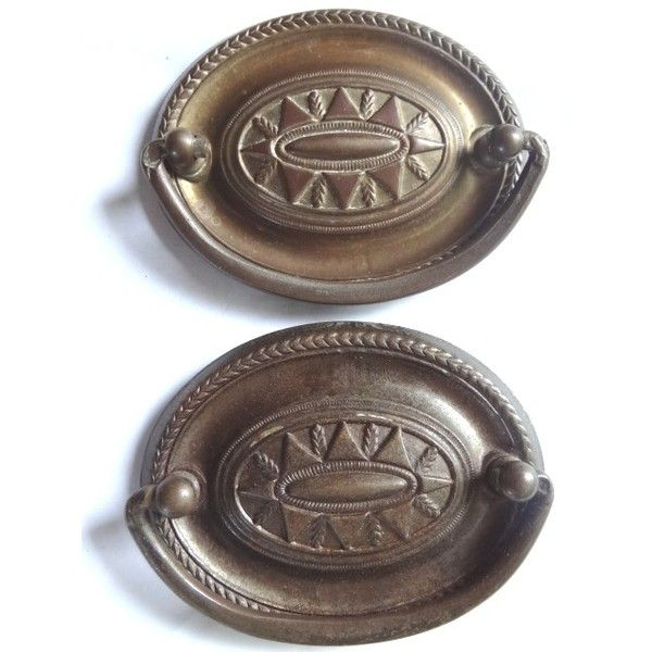 Robinsonu0027s Antiques Antique Hardware Drawer Pulls 1920 1940 Found On  Polyvore