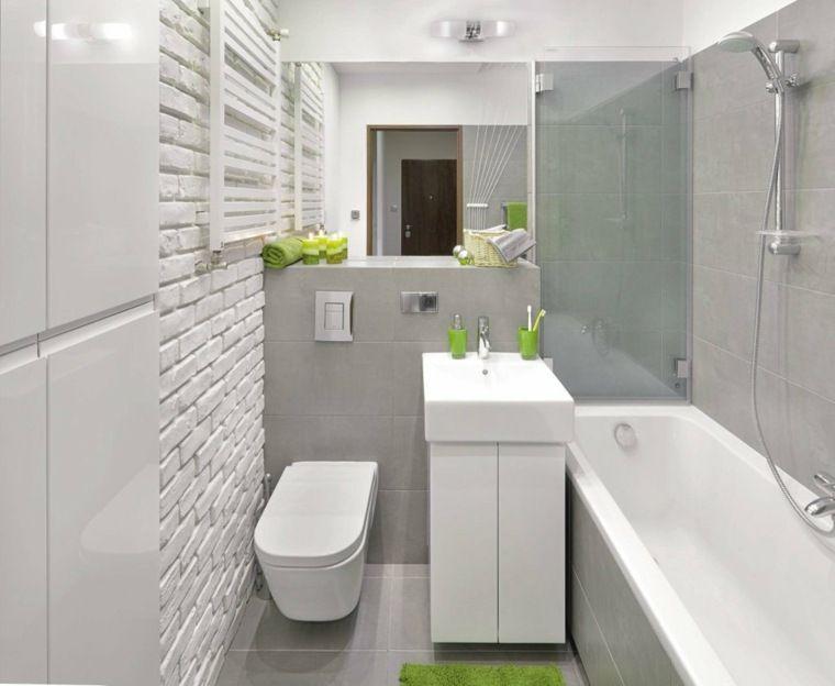 De kleine moderne badkamer ideeën verfraaien brico