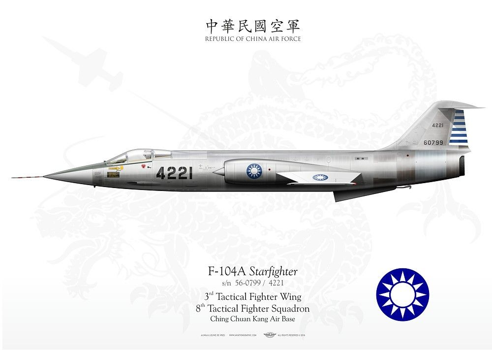 REPUBLIC OF CHINA AIR FORCE TAIWAN 3rd Tactical Fighter Wing