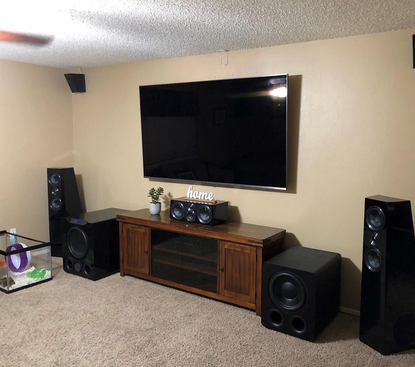 There S A Good Chance That Hamster Is Hard Of Hearing Or The Biggest Bass Head Ever Svs Pb16ultra Pb3000 Dualsubs Subwoofer Audio Design Design Subwoofer