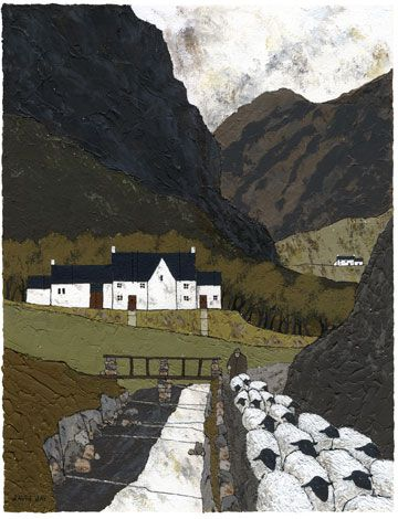 Beddgelert By David Day Landscape Art Naive Art Art