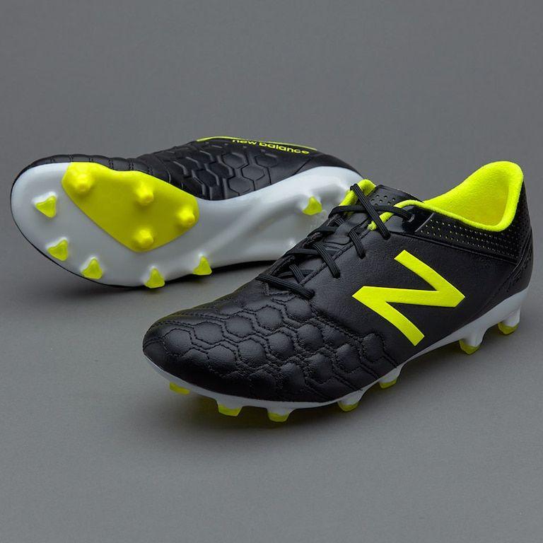 4f378f0ec66c0 New Balance Visaro K-Leather FG - Black | Sports shoes | Mens soccer ...