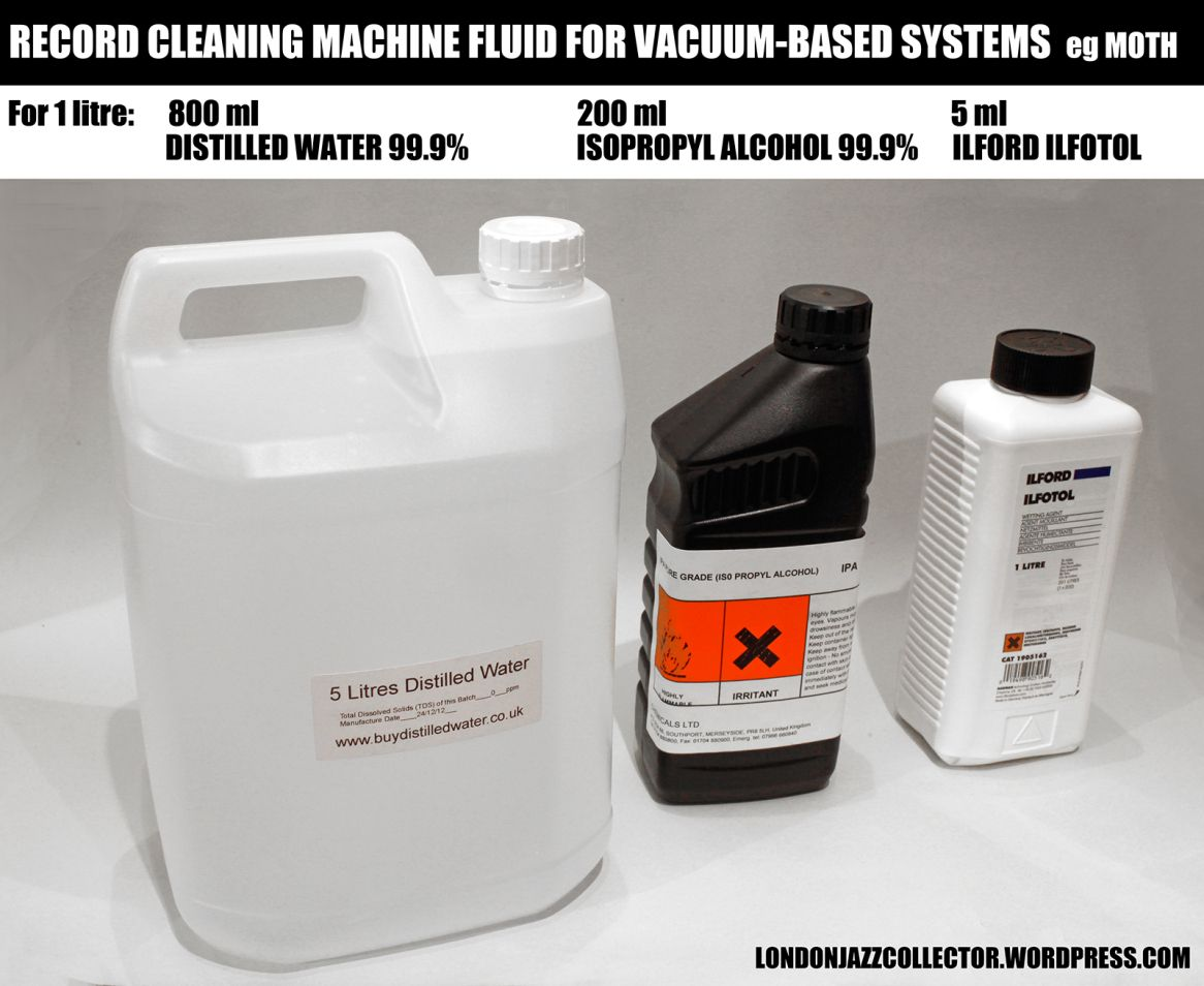 LJC home recipe for vacuum record cleaning machines