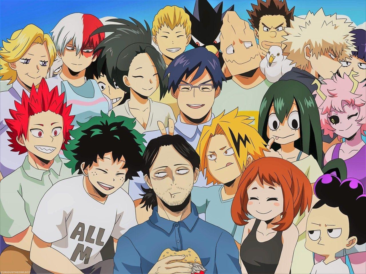 Class 1a My Hero Hero Wallpaper My Hero Academia Episodes