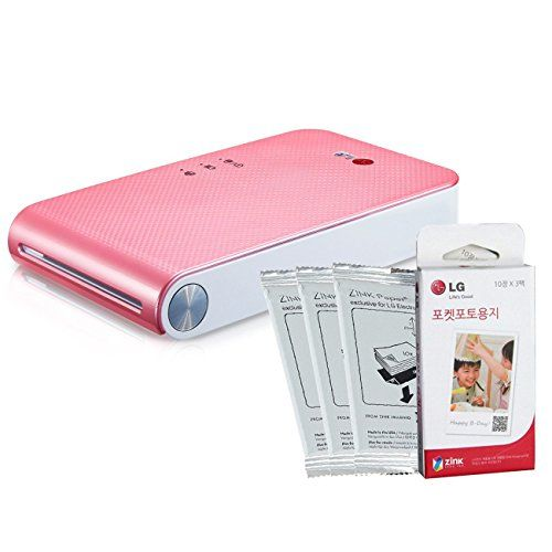 LG PoPo Pocket Photo 2 PD239 (Pink) Mini Portable Mobile Photo Printer +30 Zink Paper Sheet for Android, iOS http://themarketplacespot.com/wp-content/uploads/2015/05/41y-L1EX3mL.jpg    Rating:   List Price: unavailable   Sale Price: Too low to display.    No description available.   Read  more https://twitter.com/cure316/status/603327360675368960
