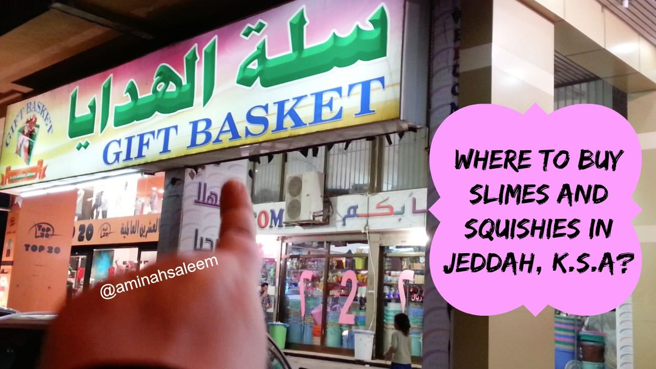 Slime And Squishy Invasion In Gift Basket Shop In Jeddah K S A Vlog Slime And Squishy Slime Gift Baskets