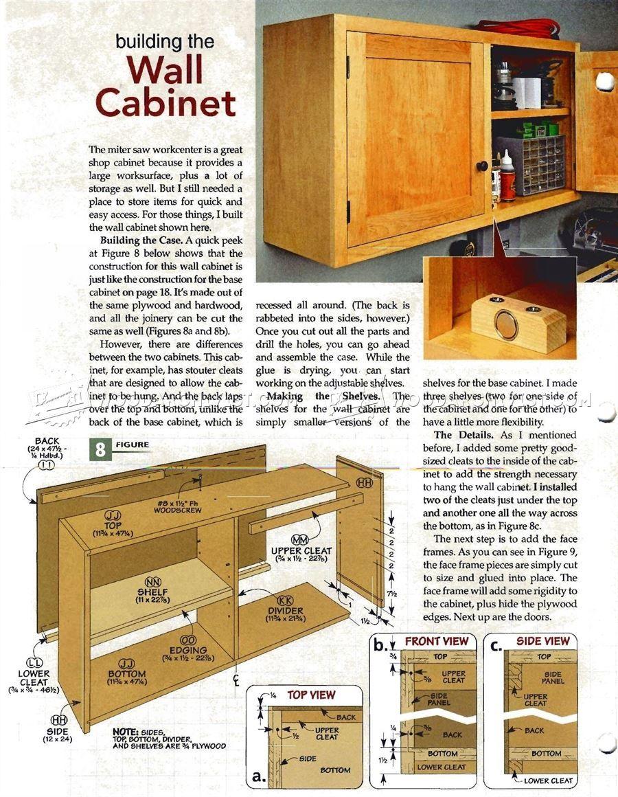 Shop Cabinet Plans With Images Shop Cabinets Cabinet Plans