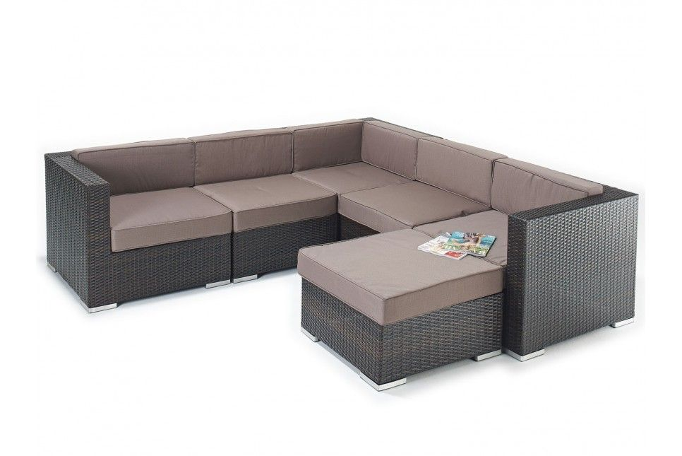 Delicieux This Luxurious And Stylish Garden Sofa Is In Rustic, Brown Or Black Flat  Weave Rattan.