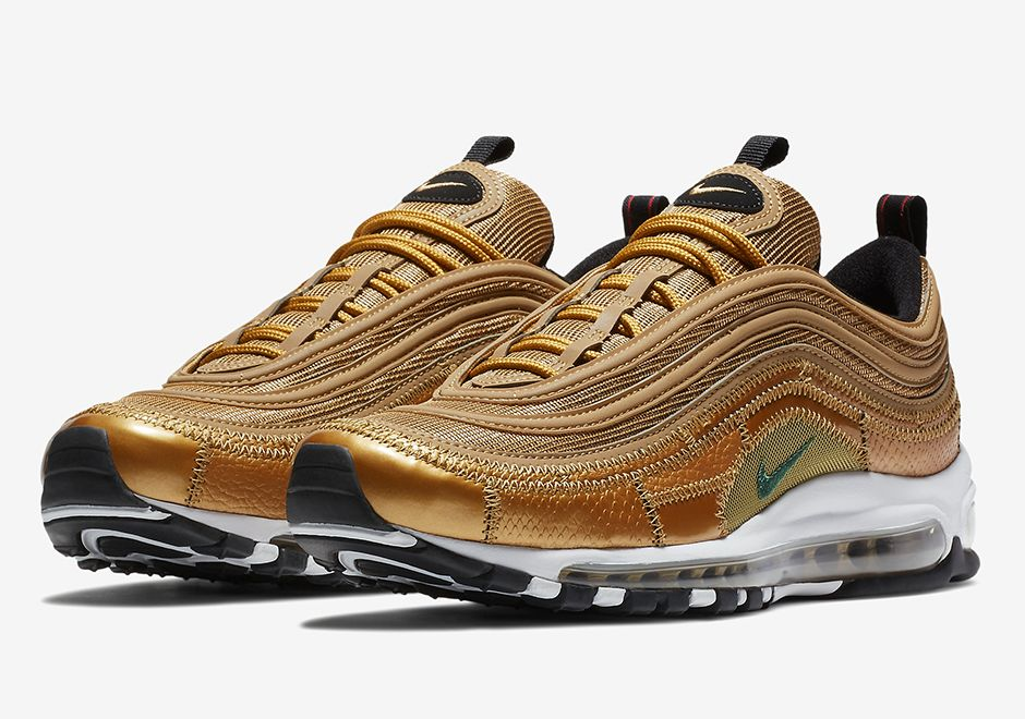 Cristiano Ronaldo Nike Air Max 97 CR7 Gold Patch | Air max