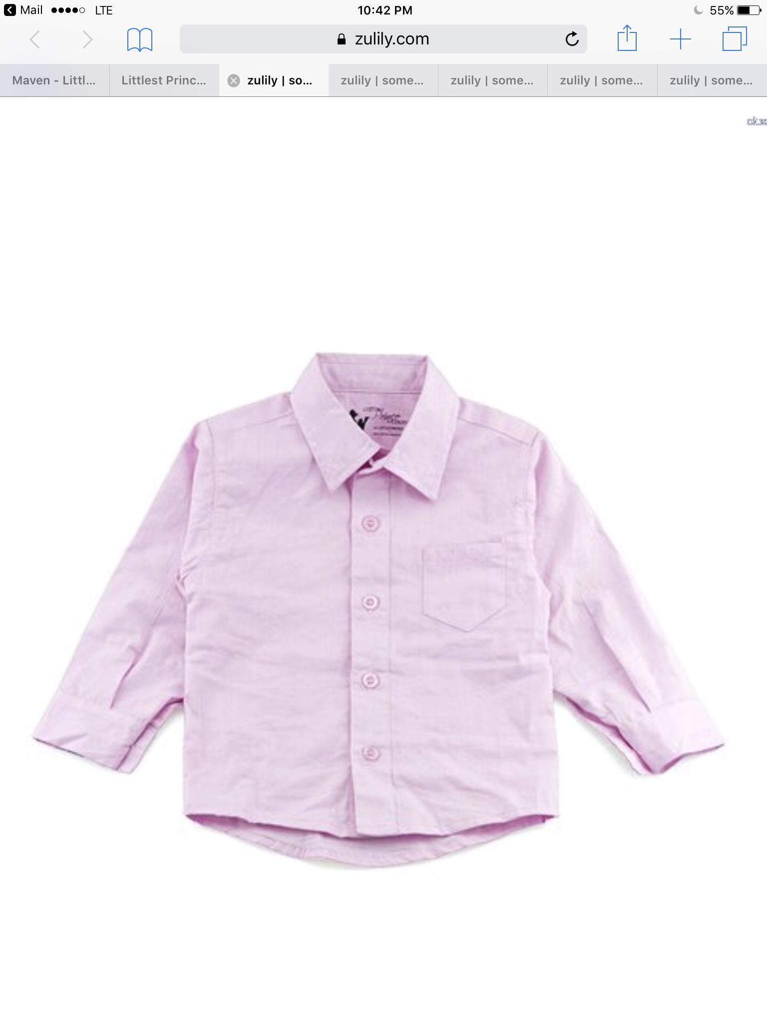 Toddler Boy Dress Shirt Pink Bcd Tofu House