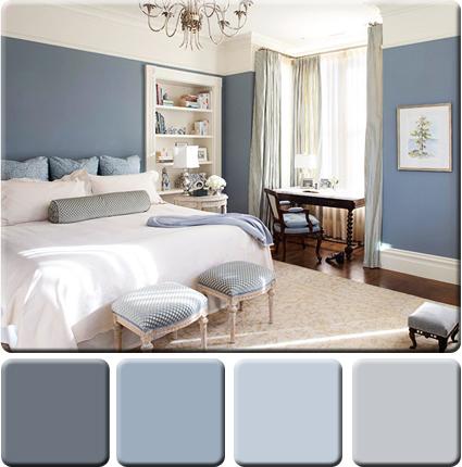 bedroom Monochromatic Color Scheme for Interior Design in