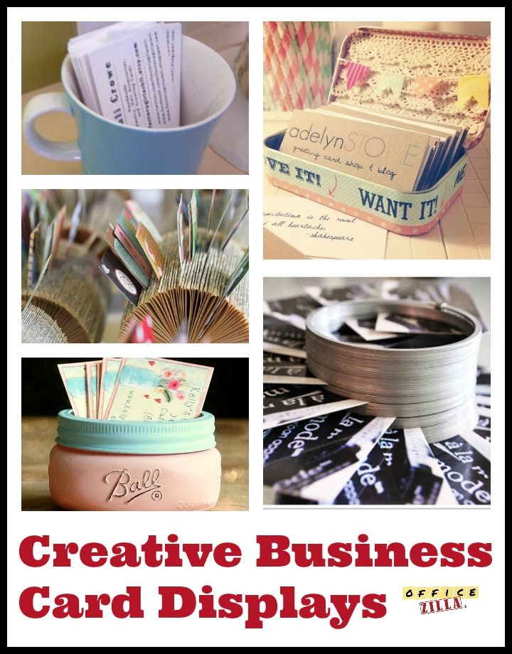 8 creative ways to display your business cards office decor when you interact with clients its important to showcase yourself in the right light these creative ways to display your business cards can help you m4hsunfo