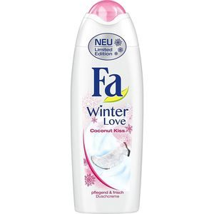 Fa Winter Love Coconut Kiss Shower Cream 250ml 8 45 Fl Oz