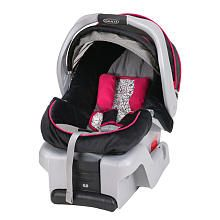 Goes perfectly with the color scheme i want for baby girl! Graco SnugRide 30 Infant Car Seat - Mirabella