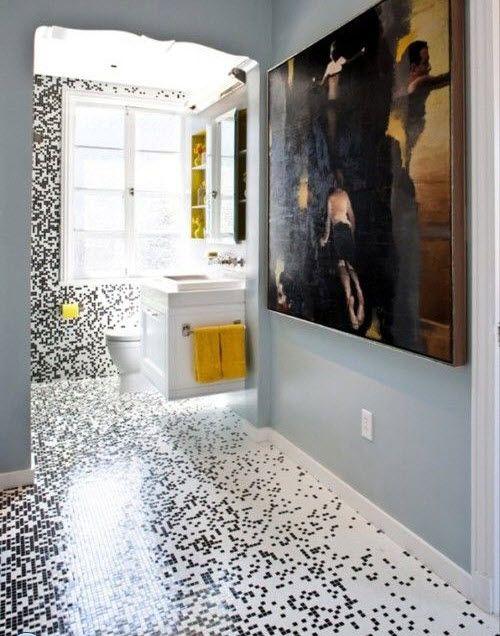 26 White Glitter Bathroom Floor Tiles Ideas And Pictures Creative Bathroom Design Classic Bathroom Design Bathroom Tile Designs