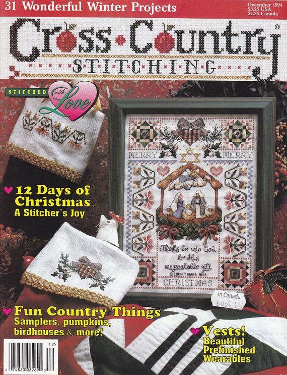 Christmas Nativity Cross Stitch Pattern