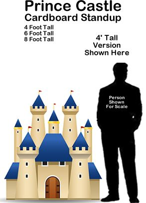 Prince Castle Cardboard Cutout Standup Prop This Prince