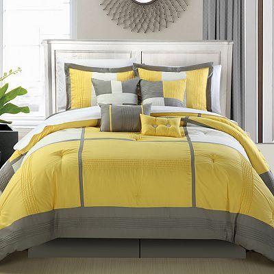Dorchester 12 Pc Bed Set Chambre A Coucher Draps De Lit