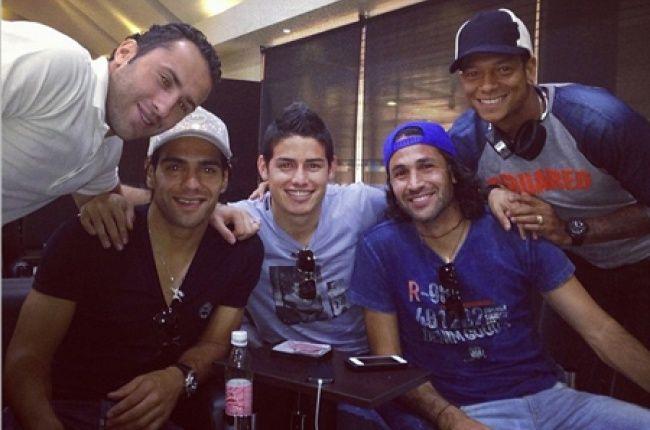 Falcao, James, Yepes, Ospina, Guarín y Aguilar ya se unieron a la Selección Colombia. 2013