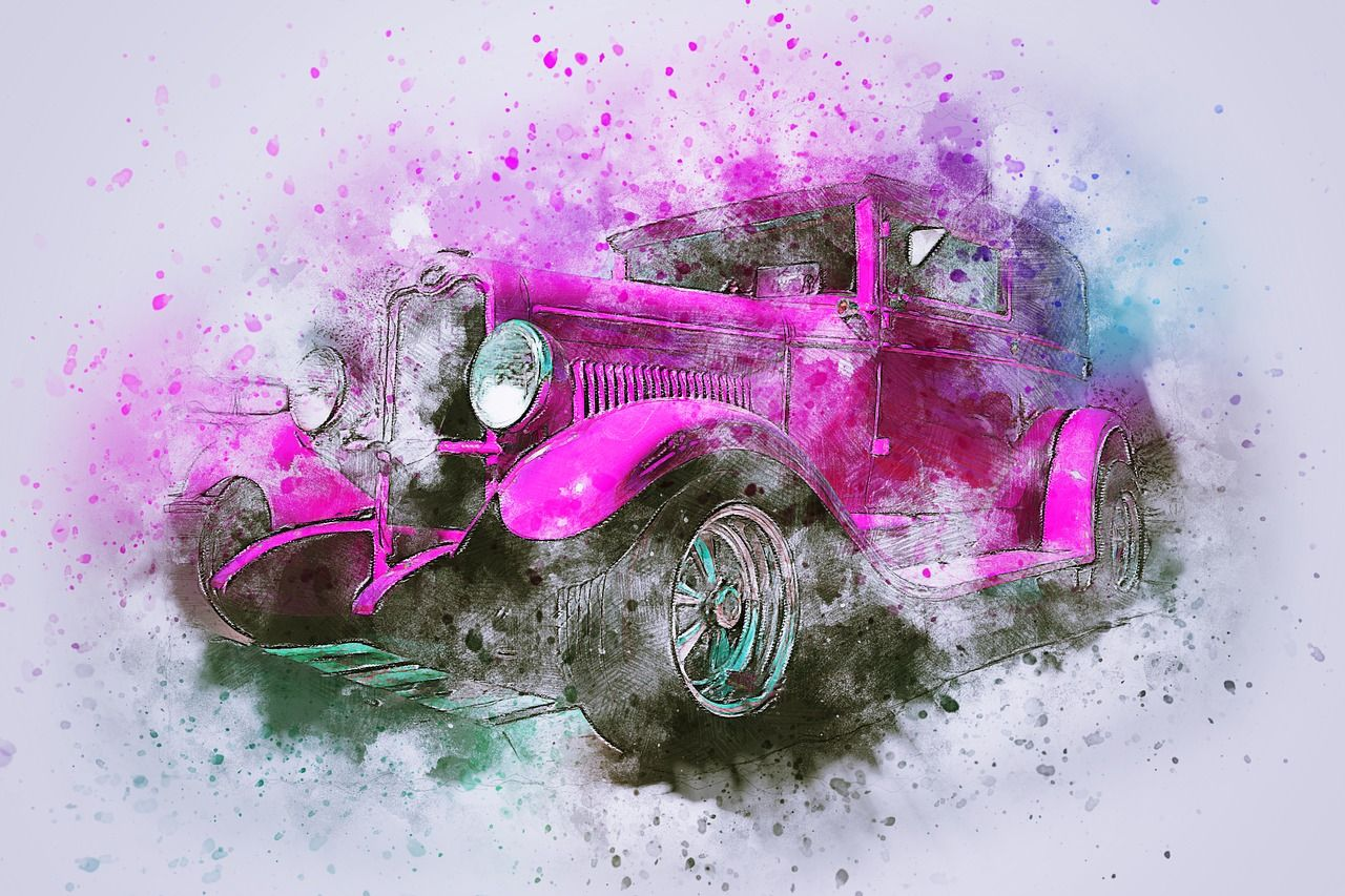 Free Image On Pixabay Car Old Car Art Abstract Retro Wallpaper Abstract Thanksgiving Wallpaper