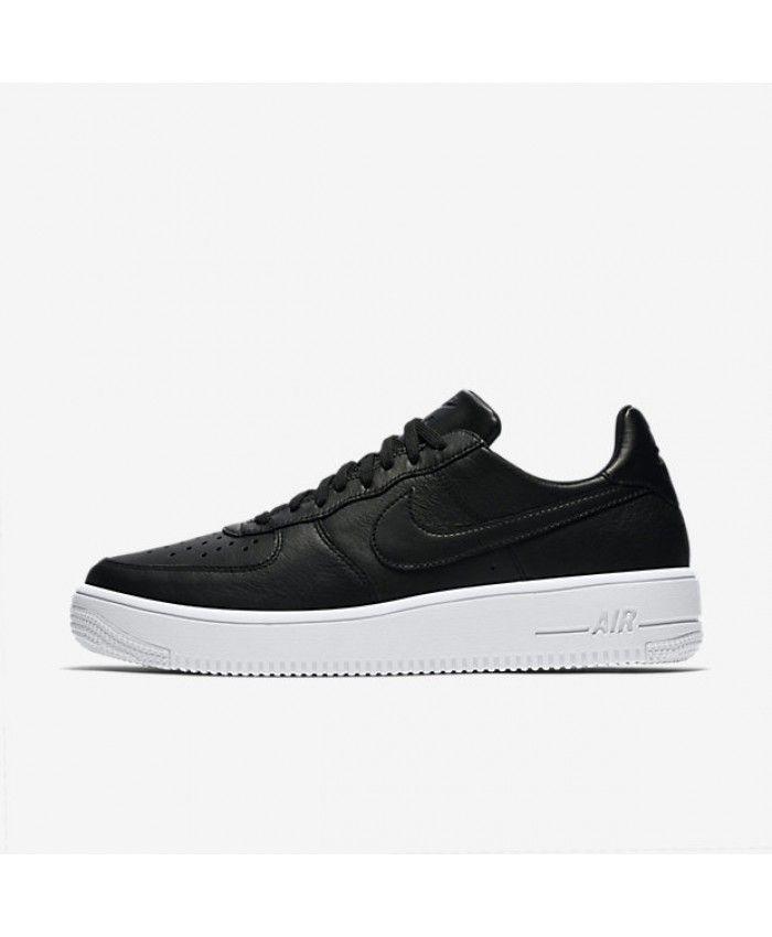 Nike Air Force 1 UltraForce Leather Black White Black 845052