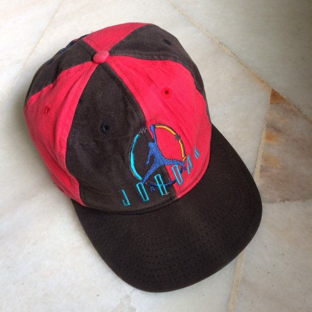01efc359 Excited to share the latest addition to my #etsy shop: Vintage Nike Air  Jordan cap / vintage 90's nike air jordan trucker/ vintage nike jordan  #accessories ...