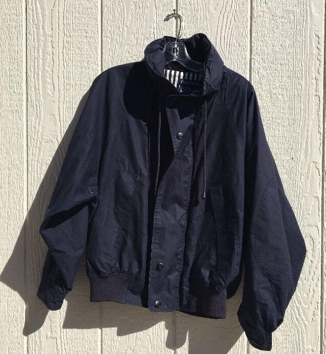 Nautica Jacket Puffer Jacket Bomber Jacket Vintage 90s Med Bomber Jacket Vintage Bomber Jacket Jackets