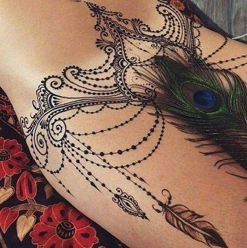 Diseños Para Tatuajes En El Vientre Bajo Para Mujeres Tattoo
