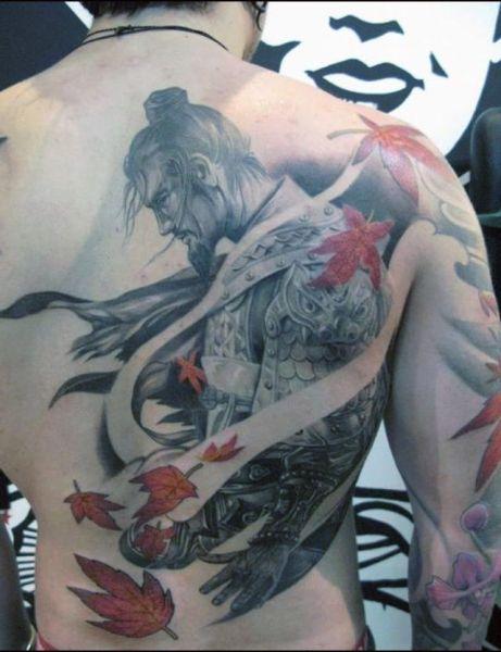 Tatuaże Męskie Wojownik Tattoos Samurai Tattoo Tatuaż I
