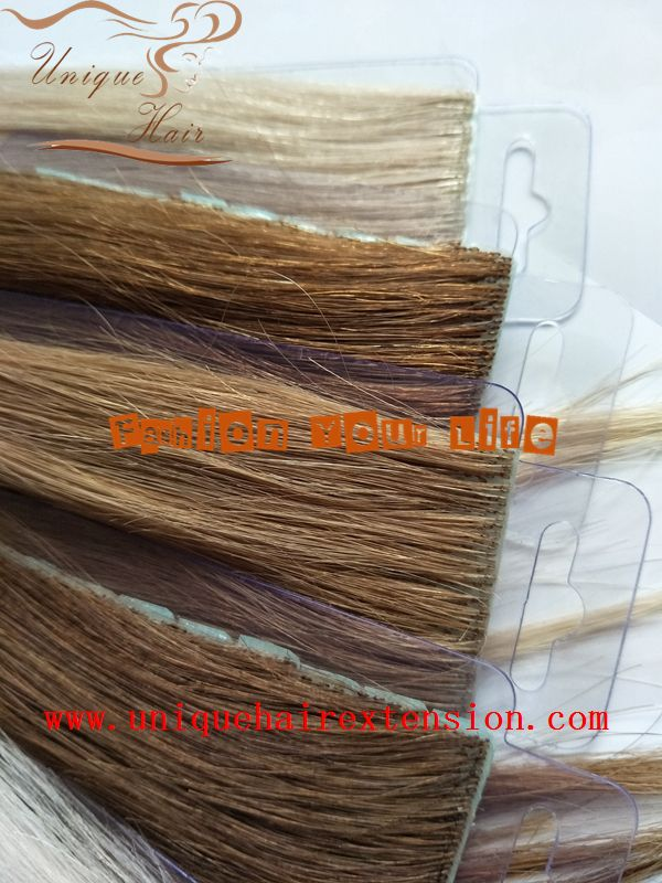 Hand Tied Skin Weft Hair Extensionsinvisible Hair Extensions100