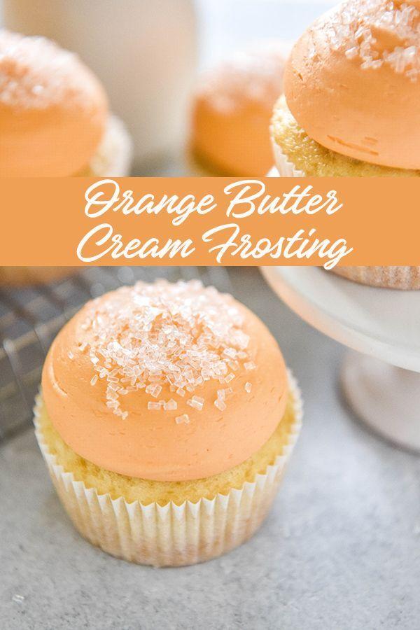 Orange Butter Cream Frosting images