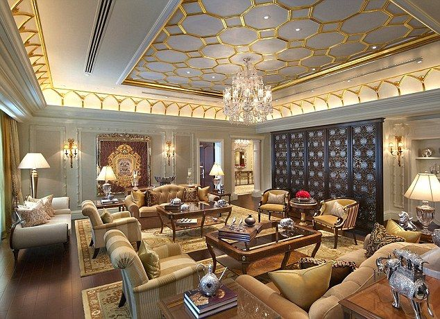 Luxury Private Library   luxury  The Prince s 4 425 sq ft Delhi suite  included a gym. So this is what Airmiles Andy calls slumming it  A private jet