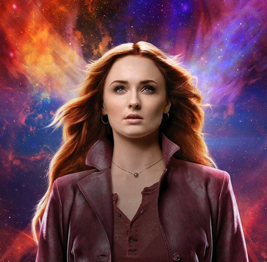 Sophie Turner As Jean Grey In X Men Dark Phoenix Dark Phoenix Jean Grey Phoenix Jean Grey