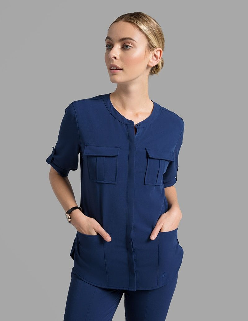 5fea11b678c product Jaanuu Scrubs, Scrubs Uniform, Lab Coats, Medical Scrubs, Cuff  Sleeves,