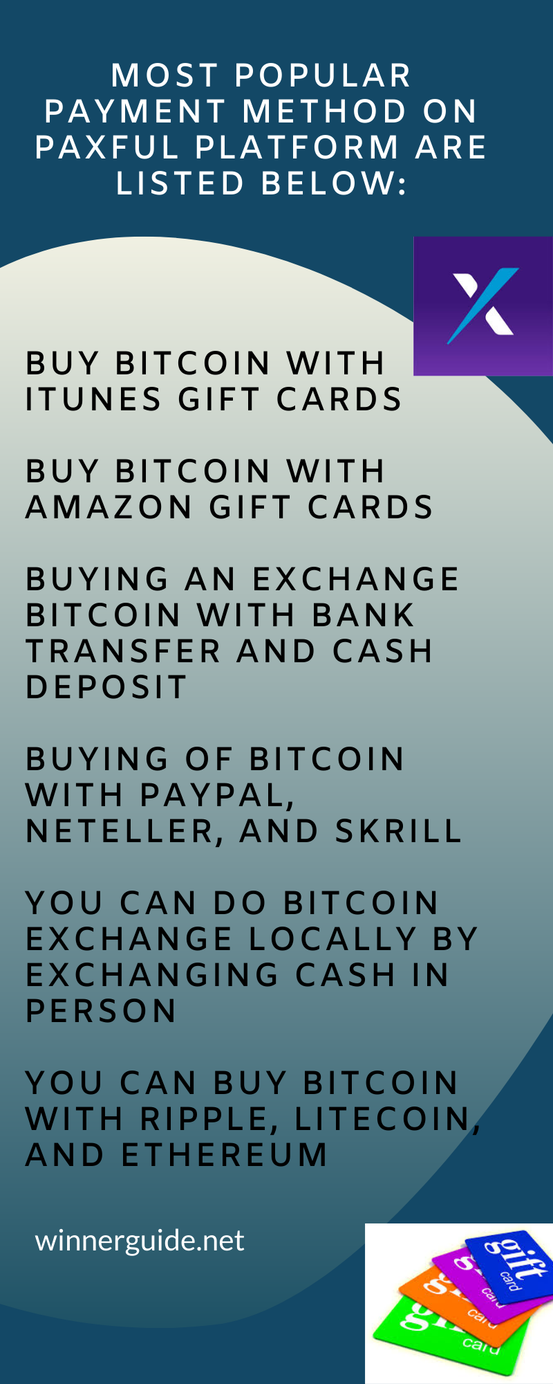 Paxful Platform Methods Buy Bitcoin Itunes Gift Cards Financial Services