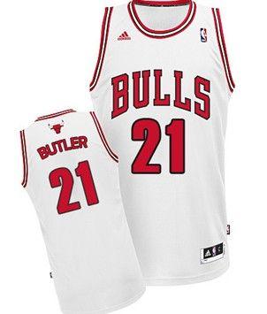 b0608ba91c2 ... chicago bulls 21 jimmy butler white swingman jersey