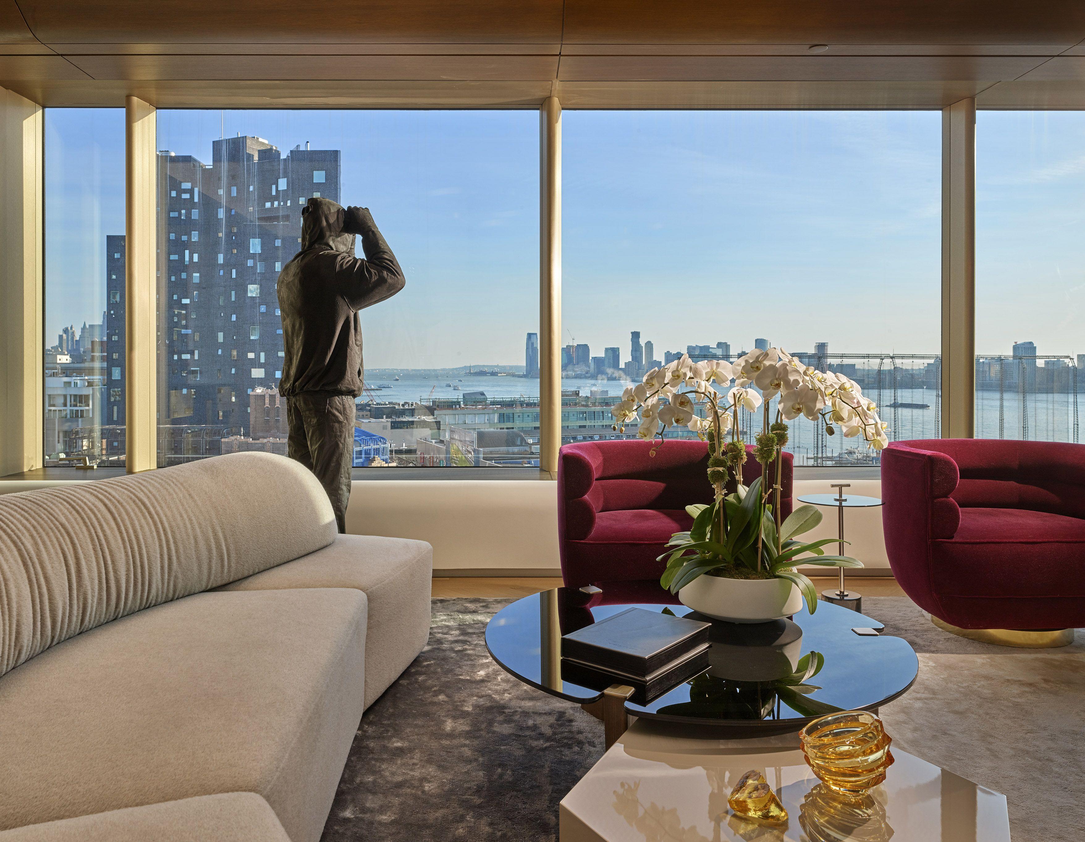 Upper East Side Residence  Living Room