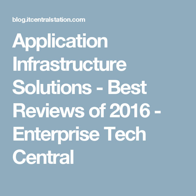 Application Infrastructure Solutions