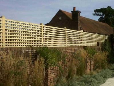 Garden Wall Designs On Garden Trellis To Offer Privacy For Walls Or A Fence  London London